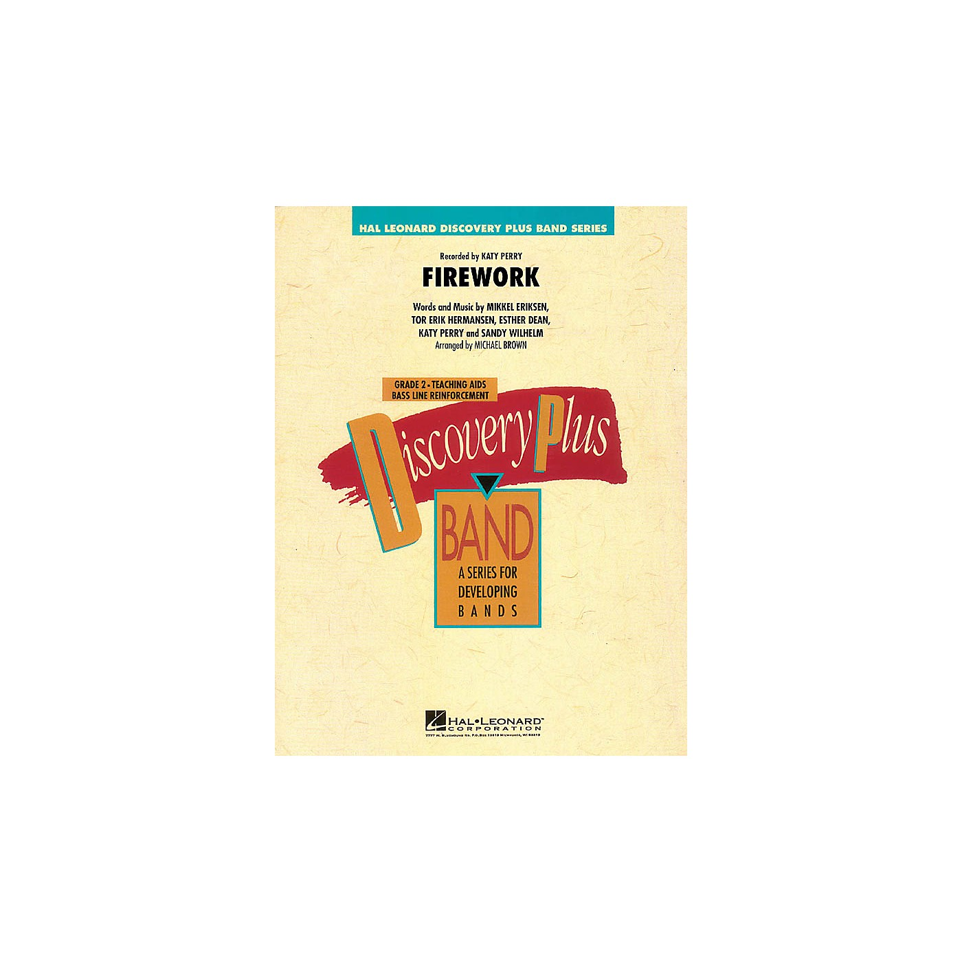 Hal Leonard Firework - Discovery Plus Band Level 2 arranged by Michael Brown thumbnail