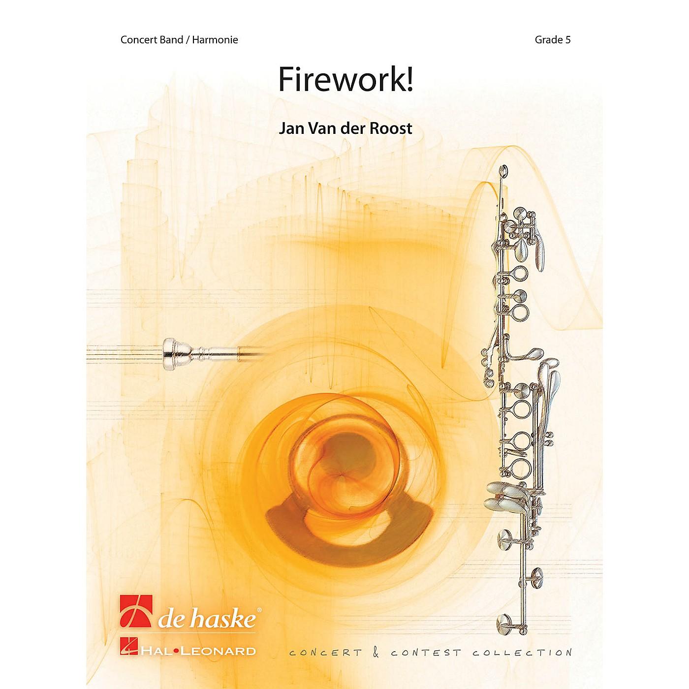 Hal Leonard Firework Score Only Concert Band thumbnail