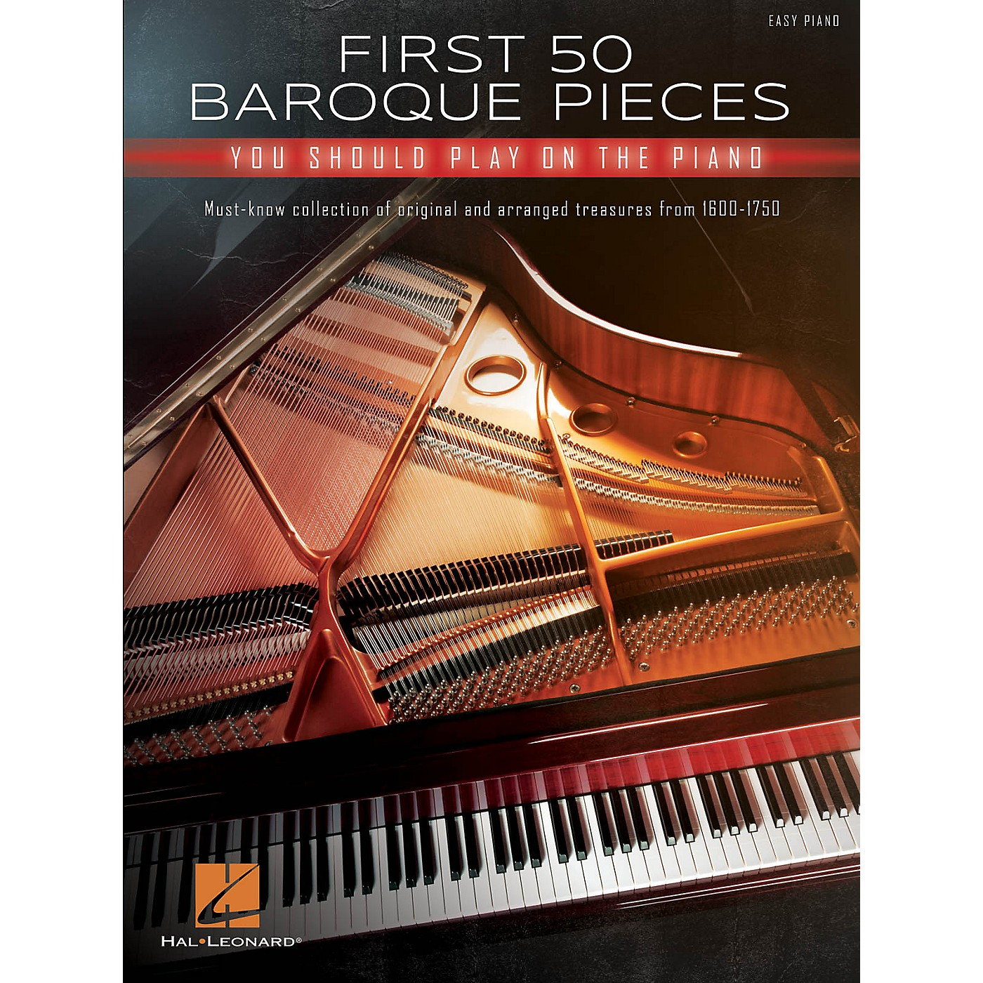 Hal Leonard First 50 Baroque Pieces You Should Play on Piano - Easy Piano Songbook thumbnail