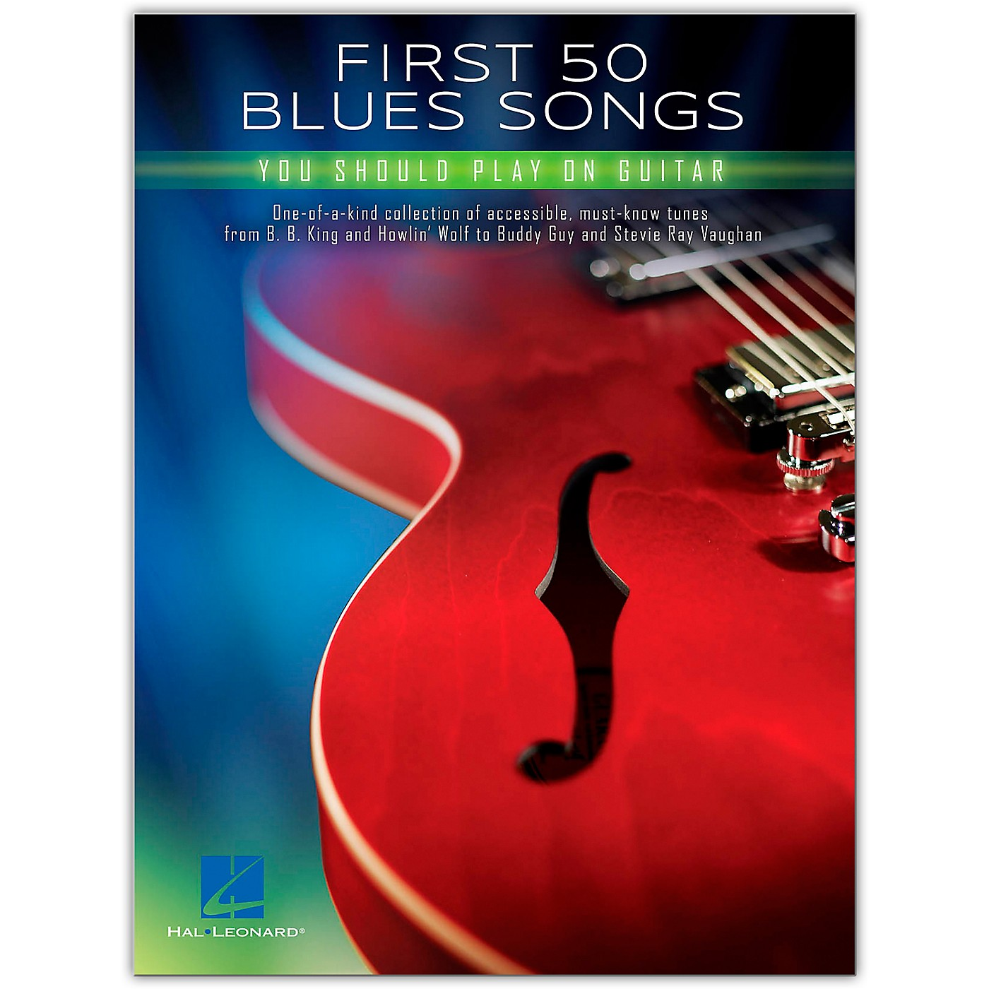 Hal Leonard First 50 Blues Songs You Should Play on Guitar thumbnail