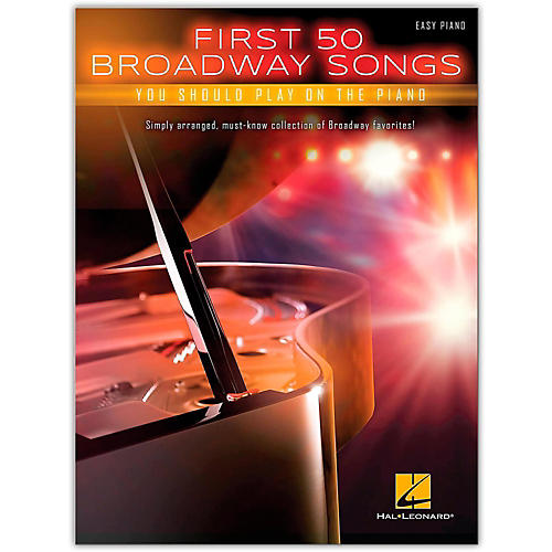 Hal Leonard First 50 Broadway Songs You Should Play on the Piano thumbnail