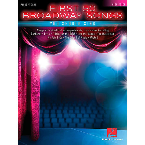 Hal Leonard First 50 Broadway Songs You Should Sing - High Voice thumbnail