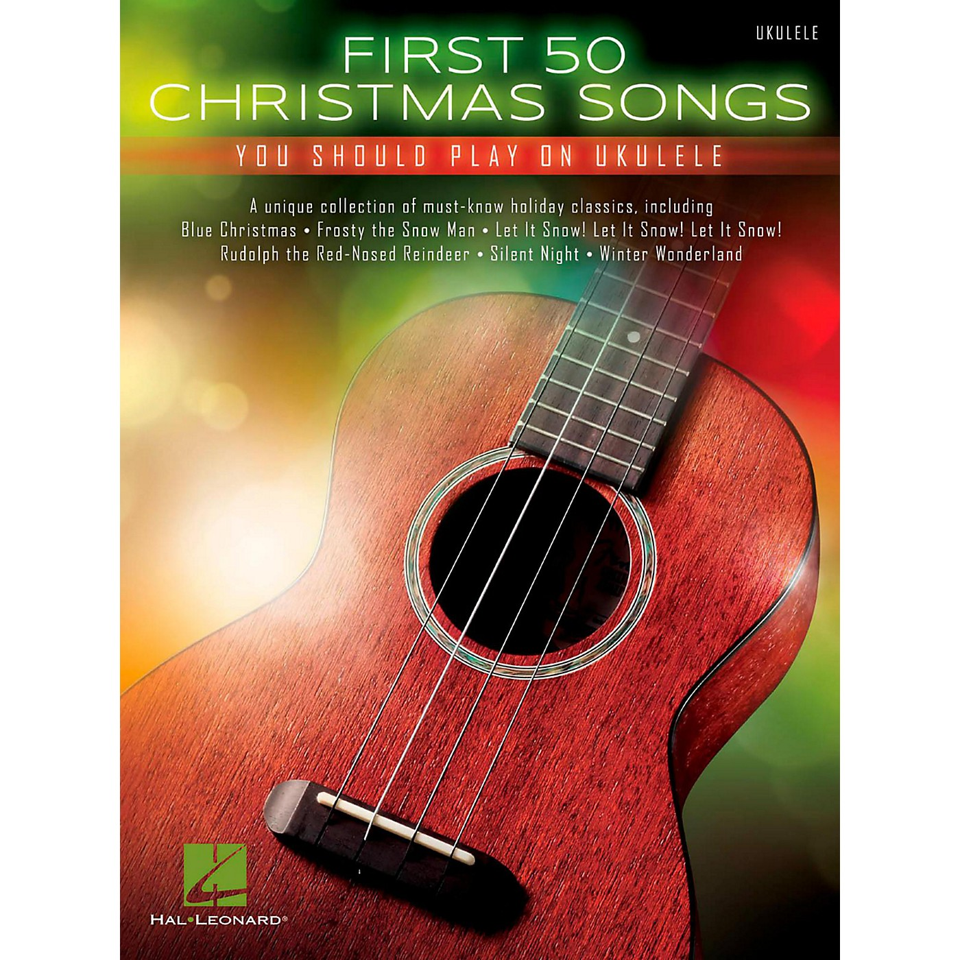 Hal Leonard First 50 Christmas Songs You Should Play on Ukulele thumbnail