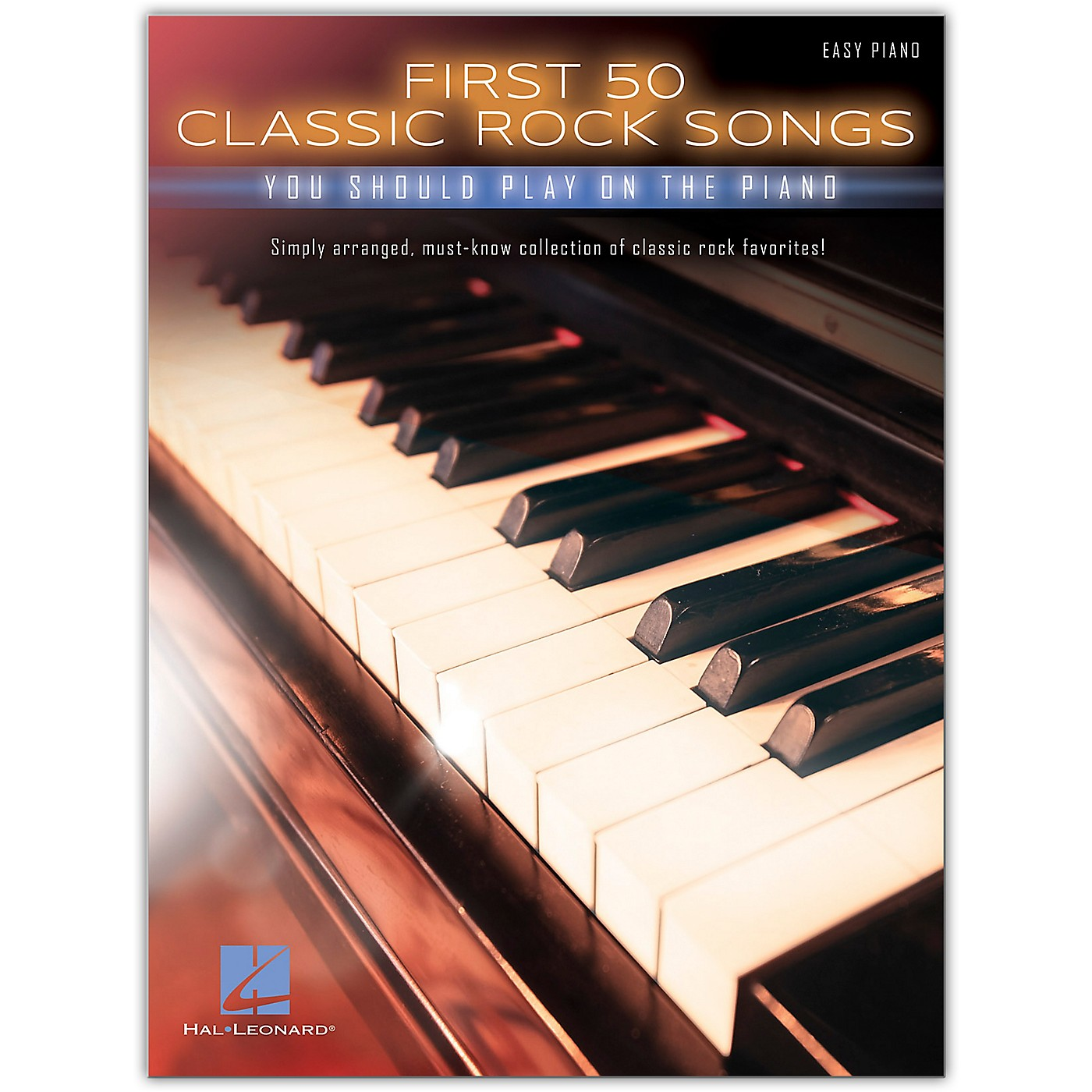 Hal Leonard First 50 Classic Rock Songs You Should Play on Piano (Easy Piano) thumbnail