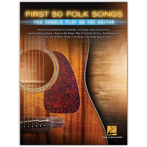 Hal Leonard First 50 Folk Songs You Should Play on Guitar thumbnail