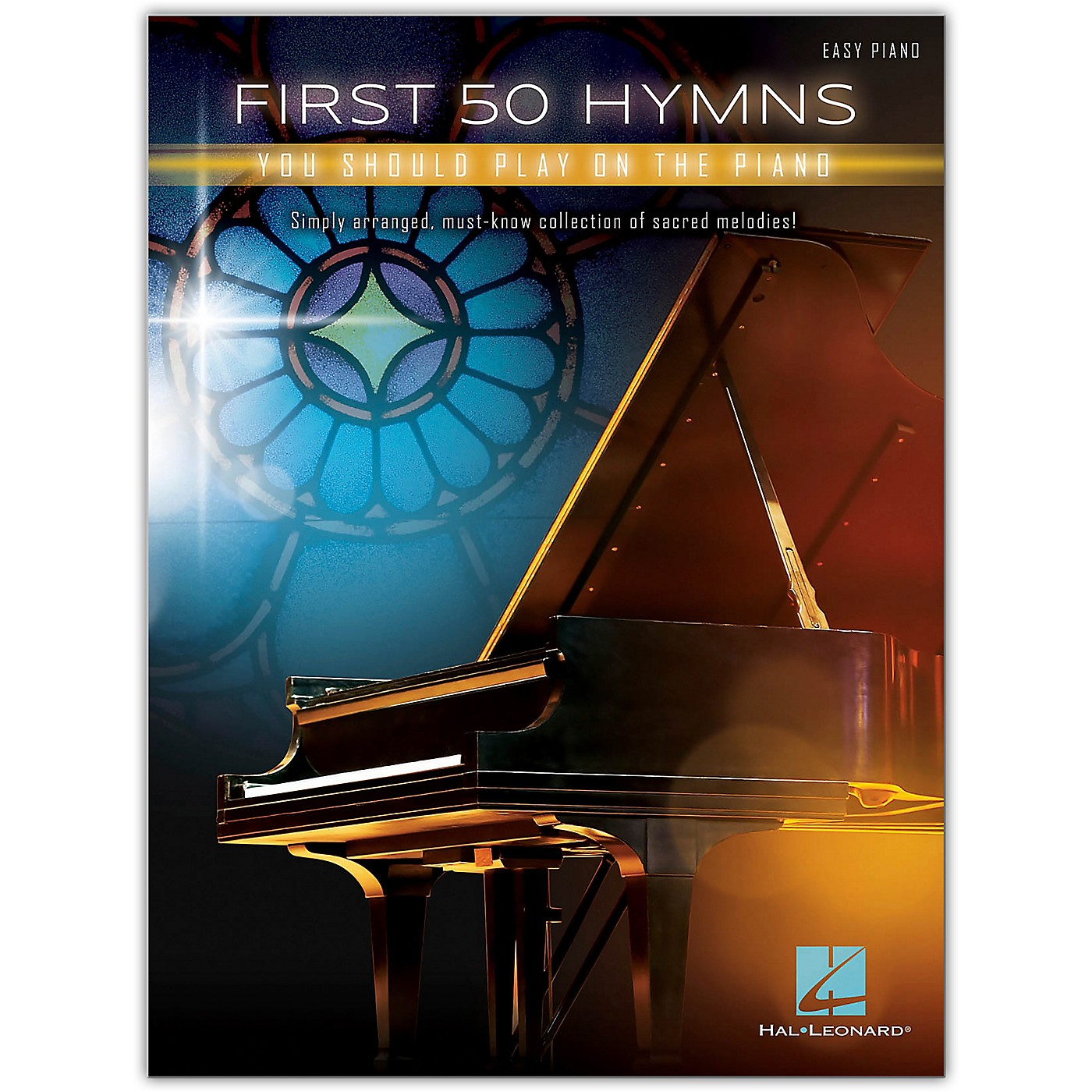Hal Leonard First 50 Hymns You Should Play on Piano Easy Piano Songbook thumbnail