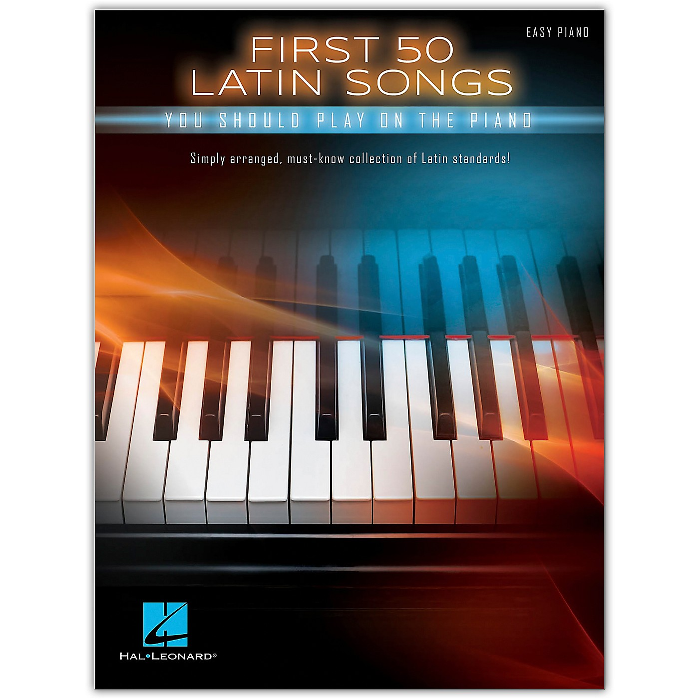 Hal Leonard First 50 Latin Songs You Should Play on the Piano Easy Piano Songbook thumbnail