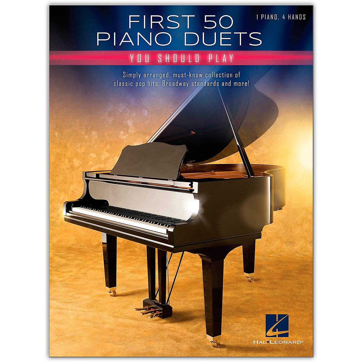 Hal Leonard First 50 Piano Duets You Should Play - Piano Duet Songbook thumbnail