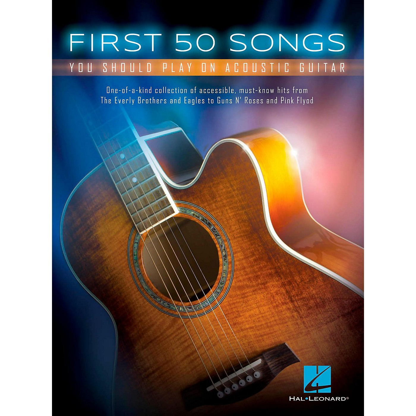 Hal Leonard First 50 Songs You Should Play On Acoustic Guitar thumbnail