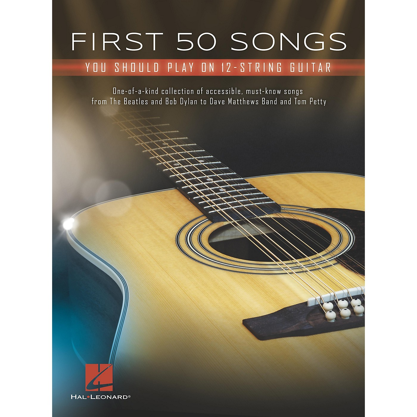 Hal Leonard First 50 Songs You Should Play on 12-String Guitar thumbnail