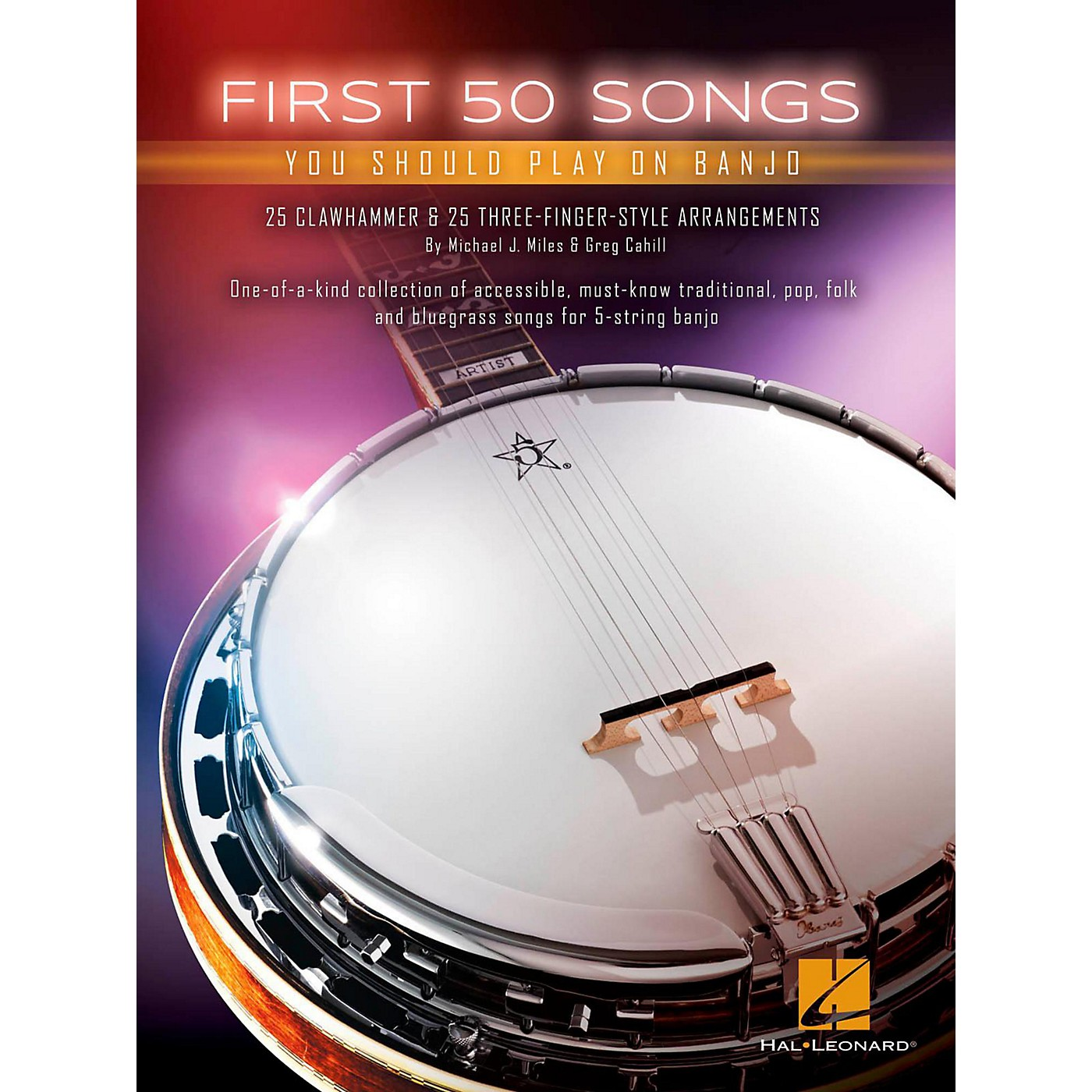 Hal Leonard First 50 Songs You Should Play on Banjo thumbnail