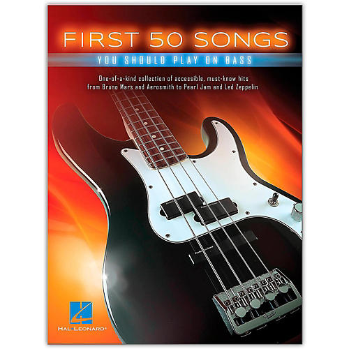 Hal Leonard First 50 Songs You Should Play on Bass thumbnail