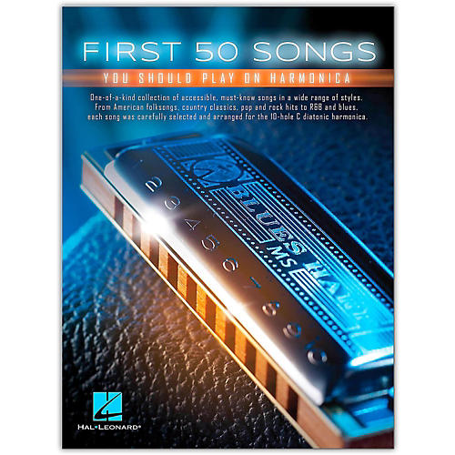 Hal Leonard First 50 Songs You Should Play on Harmonica thumbnail