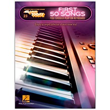 Hal Leonard First 50 Songs You Should Play on Keyboard E-Z Play Today Volume 23