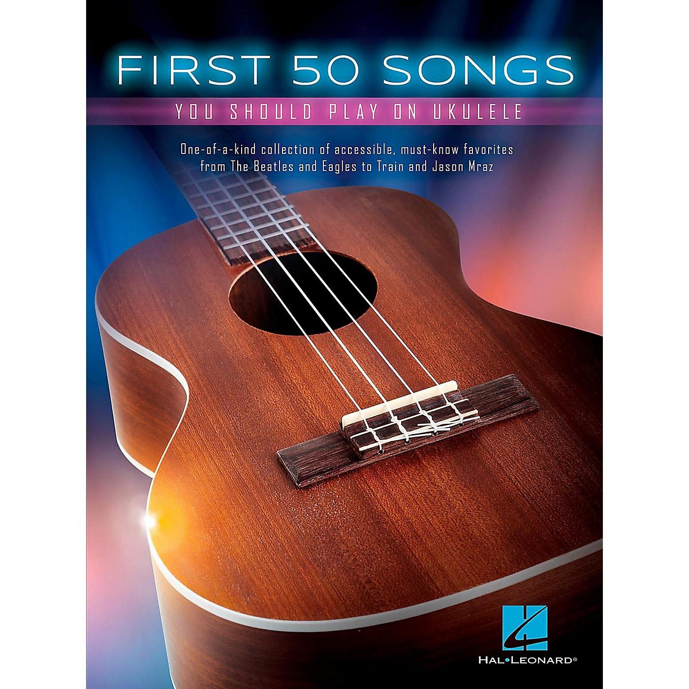 Hal Leonard First 50 Songs You Should Play on Ukulele thumbnail