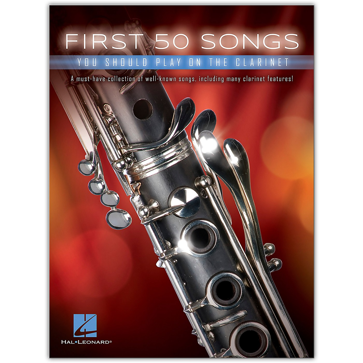 Hal Leonard First 50 Songs You Should Play on the Clarinet thumbnail