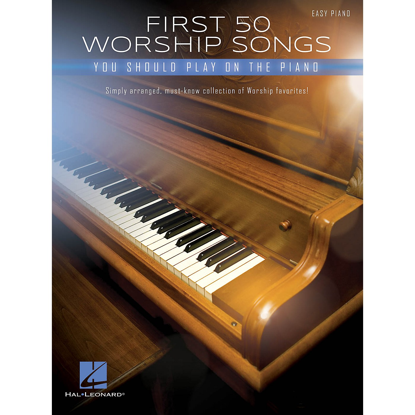 Hal Leonard First 50 Worship Songs You Should Play on Piano - Easy Piano Songbook thumbnail