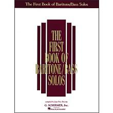 G. Schirmer First Book Of Baritone / Bass Solos