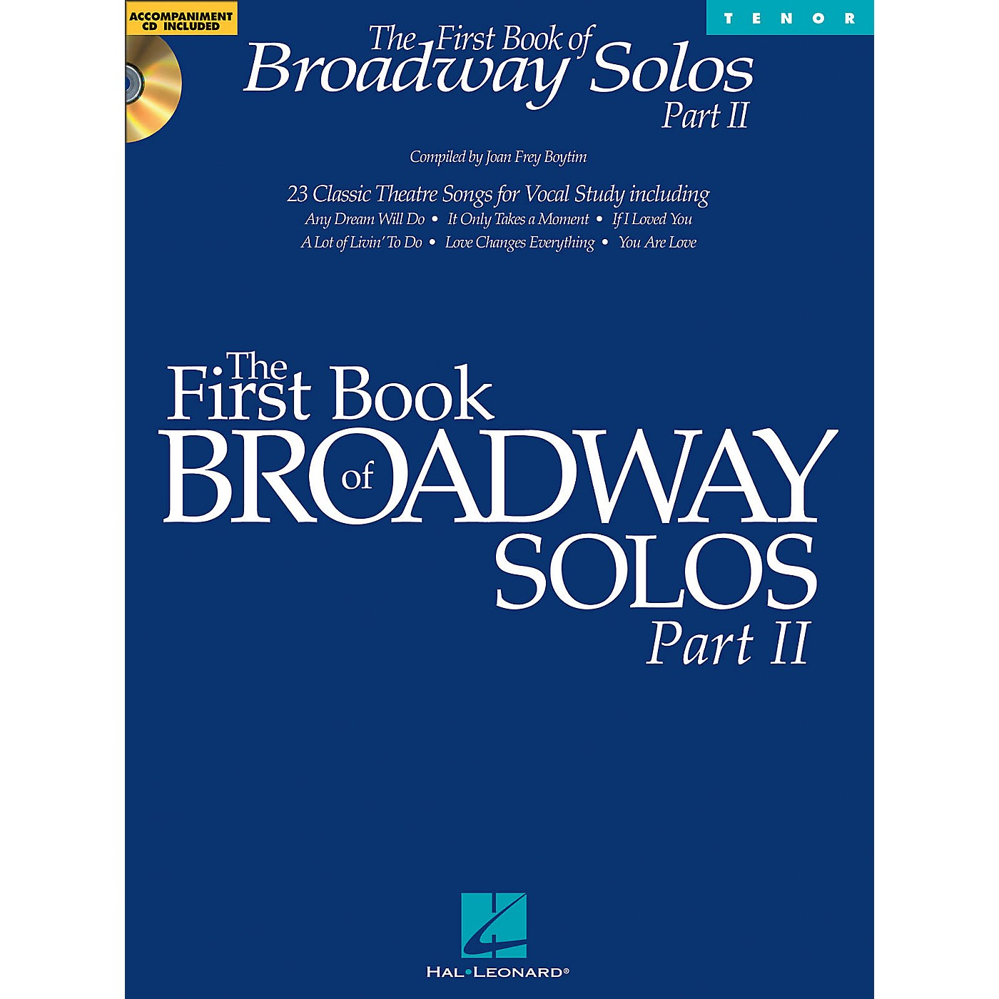 Hal Leonard First Book Of Broadway Solos Part II for Tenor Voice Book/CD thumbnail