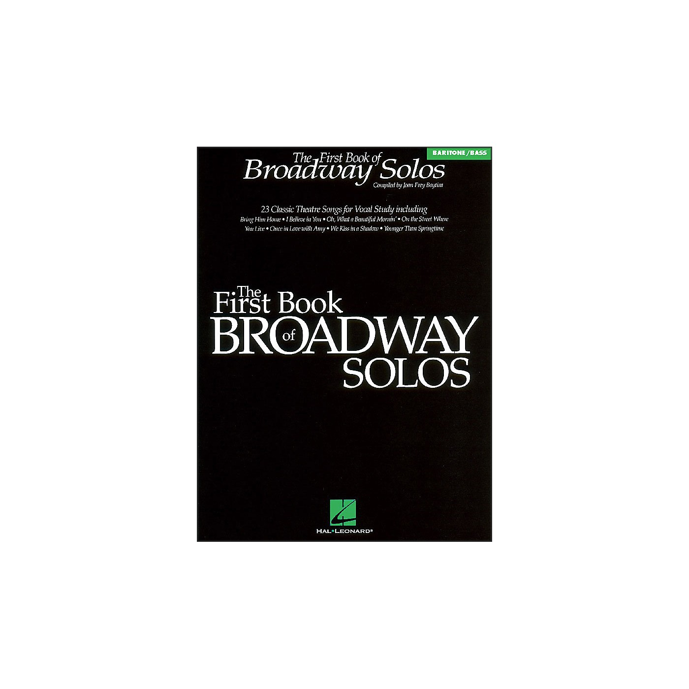 Hal Leonard First Book Of Broadway for Baritone Voice thumbnail