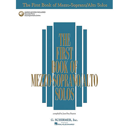 G. Schirmer First Book Of Mezzo-Soprano / Alto Solos Book/2CD Package thumbnail