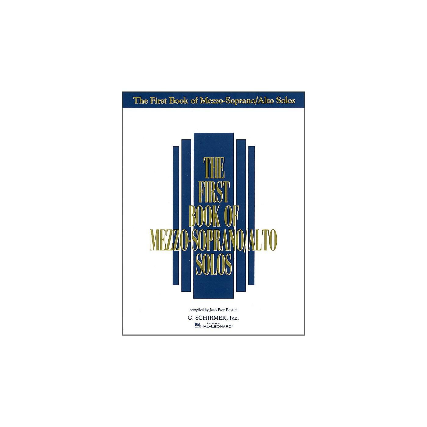 G. Schirmer First Book Of Mezzo-Soprano / Alto Solos thumbnail