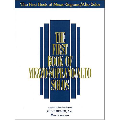 G. Schirmer First Book Of Mezzo-Soprano / Alto Solos-thumbnail
