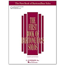 G. Schirmer First Book/Online Audio Of Baritone  /Bass Solos Book/Online Audio
