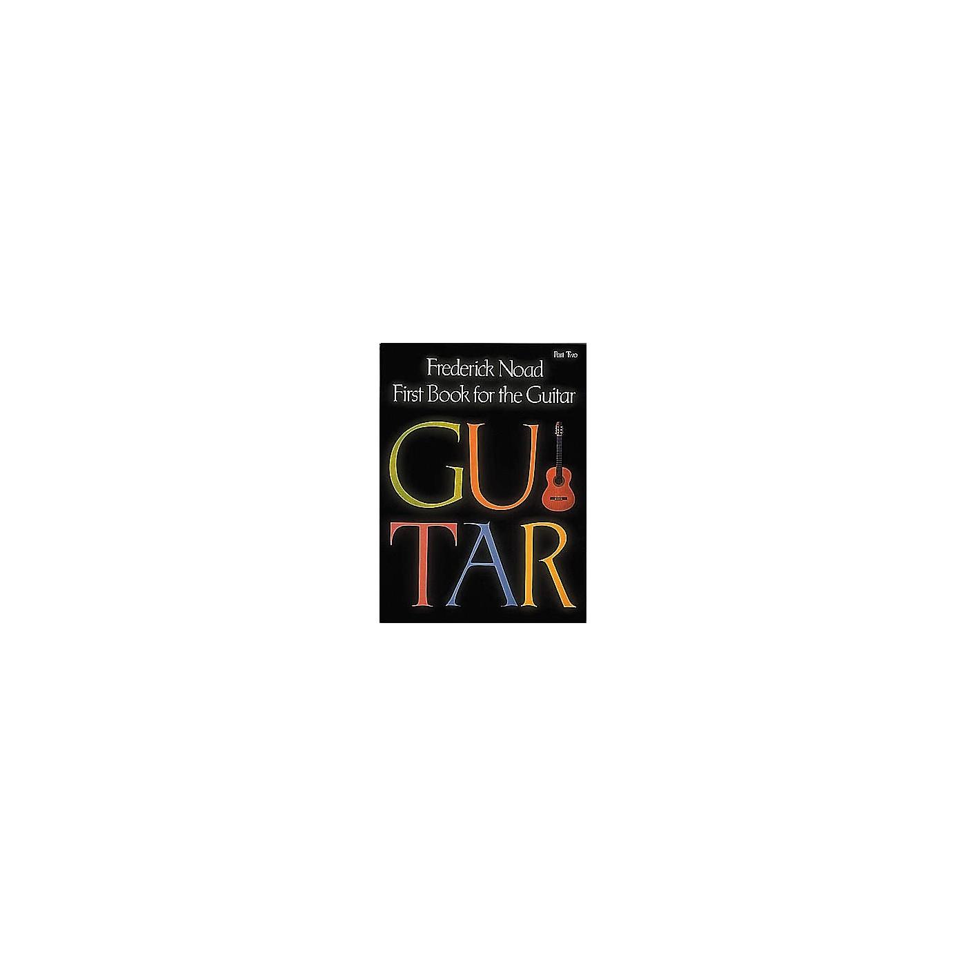 G. Schirmer First Book for the Guitar - Part 2 Book thumbnail