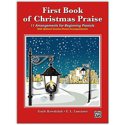 Alfred First Book of Christmas Praise Elementary thumbnail