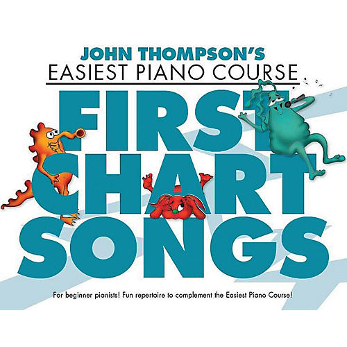 Music Sales First Chart Songs (John Thompson's Easiest Piano Course) Willis Series Softcover thumbnail