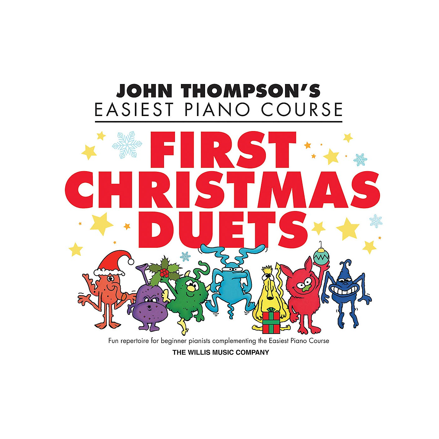 Willis Music First Christmas Duets (1 Piano, 4 Hands/Elem Level) Willis Series Book by John Thompson thumbnail