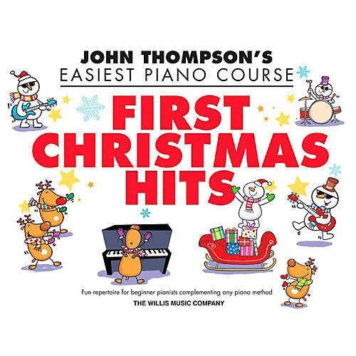 Hal Leonard First Christmas Hits - Thompson's Easiest Piano Course (Early To Mid-Elementary) thumbnail