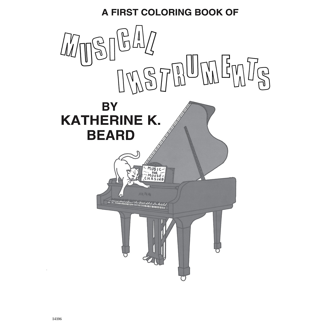 Music Sales First Coloring Book of Musical Instruments Music Sales America Series Softcover by Katherine K. Beard thumbnail