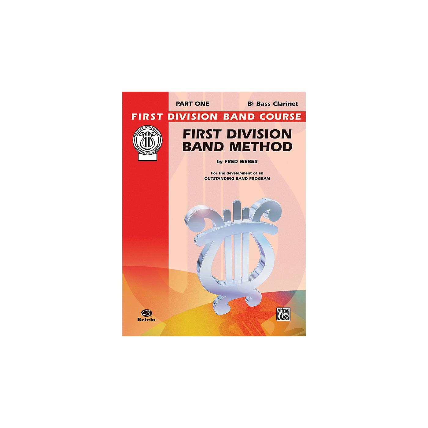 Alfred First Division Band Method Part 1 B-Flat Bass Clarinet thumbnail
