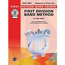 Alfred First Division Band Method Part 1 Conductor