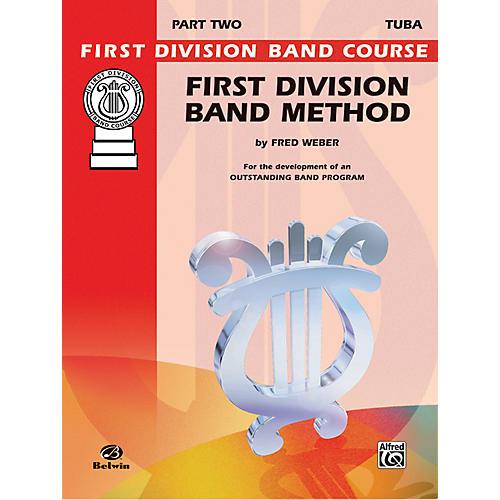 Alfred First Division Band Method Part 2 Bass (Tuba) thumbnail
