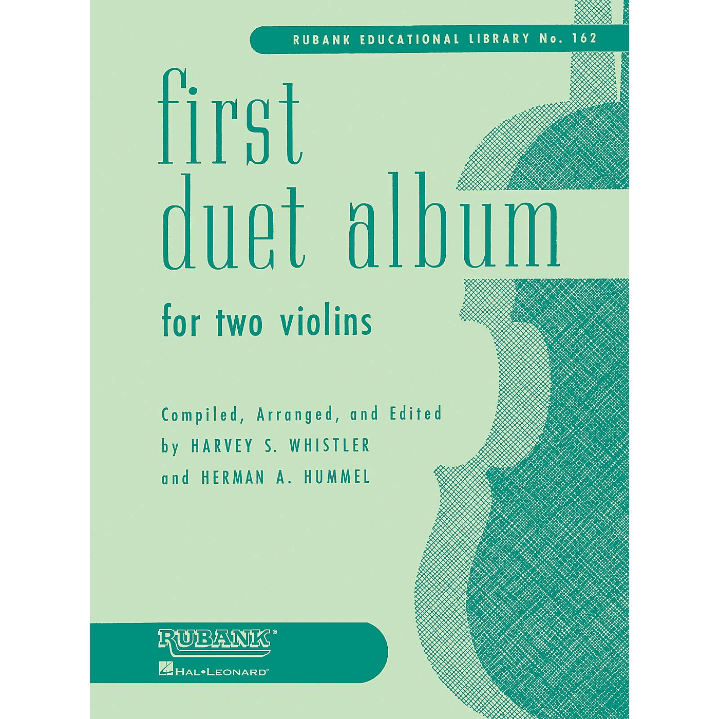 Rubank Publications First Duet Album for Two Violins (in Elementary First Position) Ensemble Collection Series thumbnail