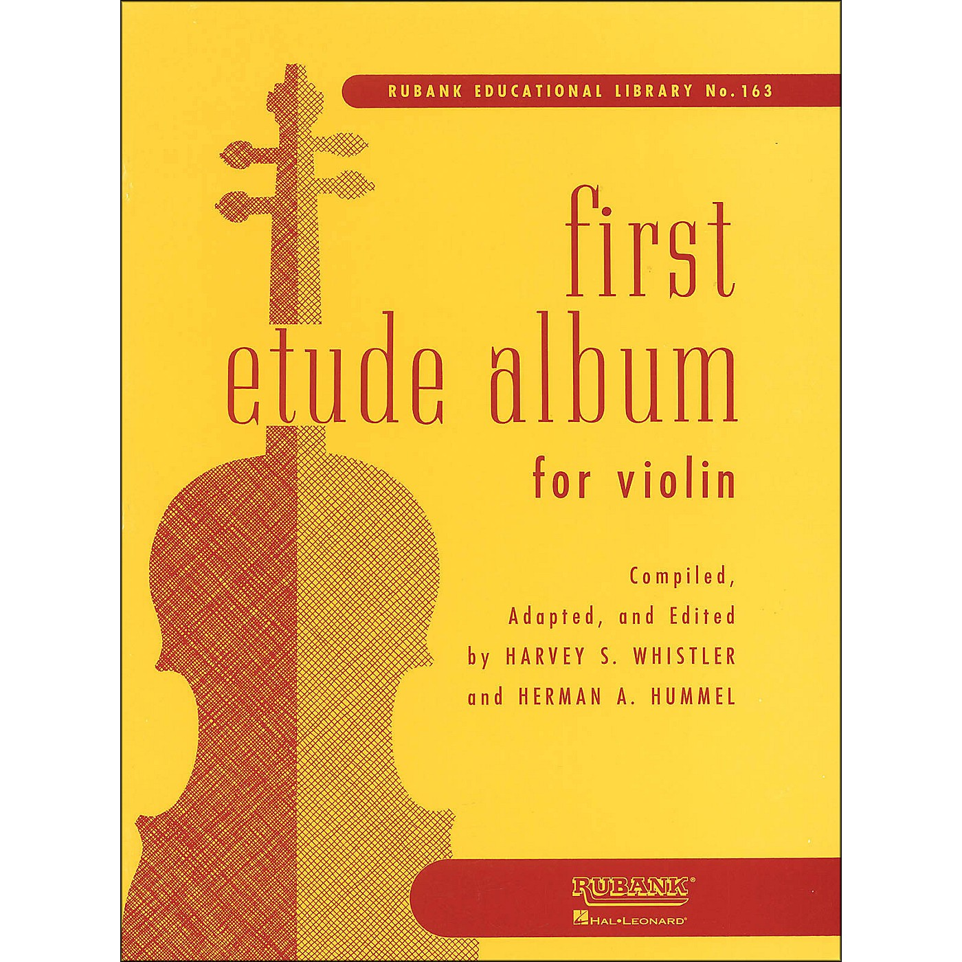 Hal Leonard First Etude Album for Violin First Position thumbnail