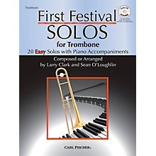 Carl Fischer First Festival Solos for Trombone (20 Easy Solos with Piano Accompaniments)