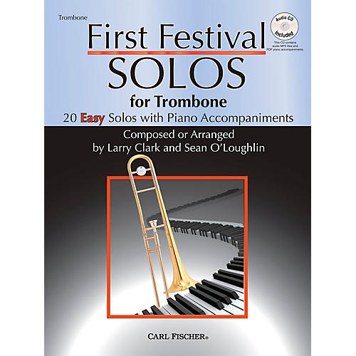 Carl Fischer First Festival Solos for Trombone (20 Easy Solos with Piano Accompaniments) thumbnail