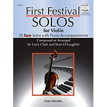 Carl Fischer First Festival Solos for Violin (20 Easy Solos with Piano Accompaniments)