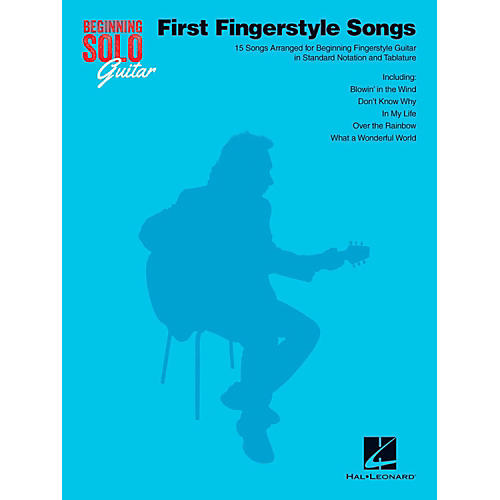Hal Leonard First Fingerstyle Songs - Beginning Solo Guitar thumbnail