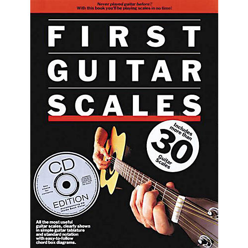 Music Sales First Guitar Scales Music Sales America Series Softcover with CD Written by Various Authors thumbnail