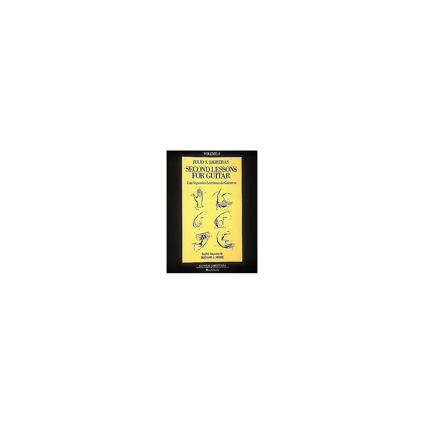 Ricordi First Lesson for Guitar - Volume 2 Book thumbnail