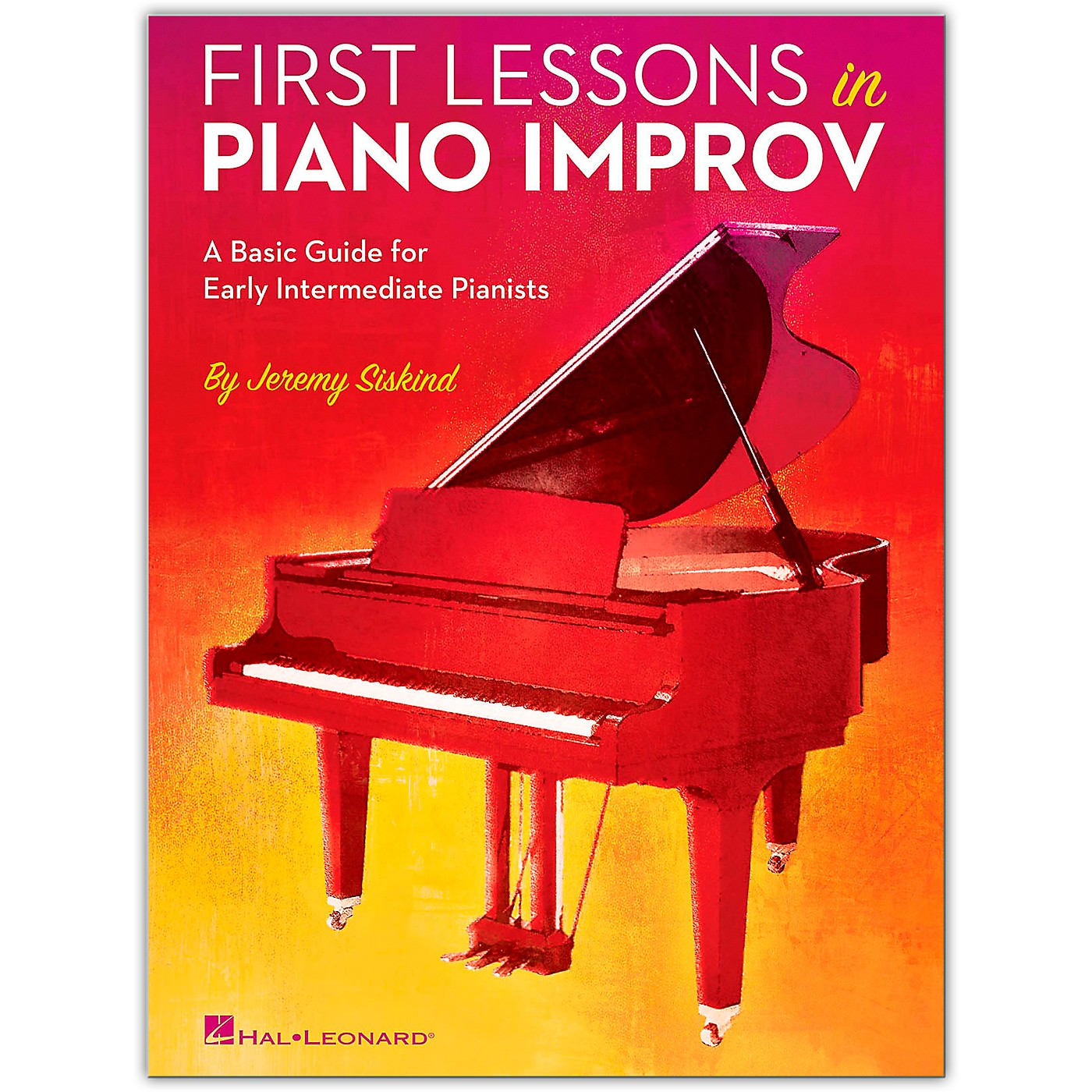 Hal Leonard First Lessons In Piano Improv (Book) thumbnail