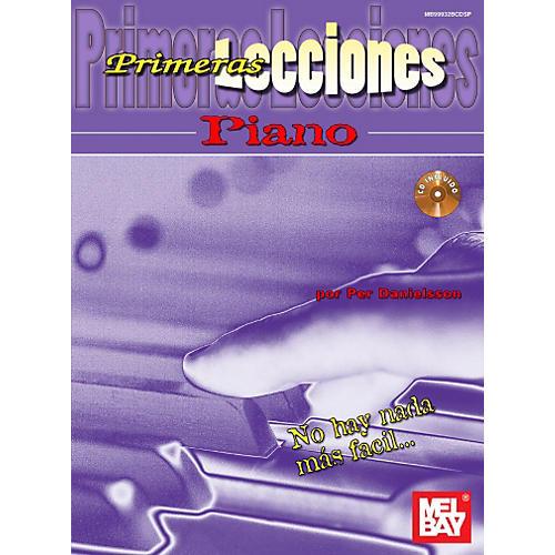 Mel Bay First Lessons Piano, Spanish Edition Book/CD Set thumbnail