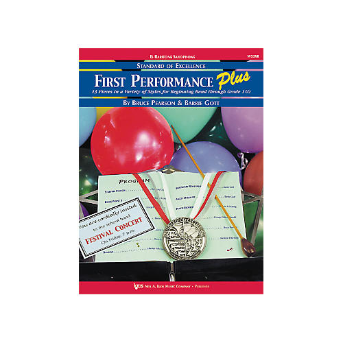 KJOS First Performance Plus Eflat Baritone Saxophone Book thumbnail