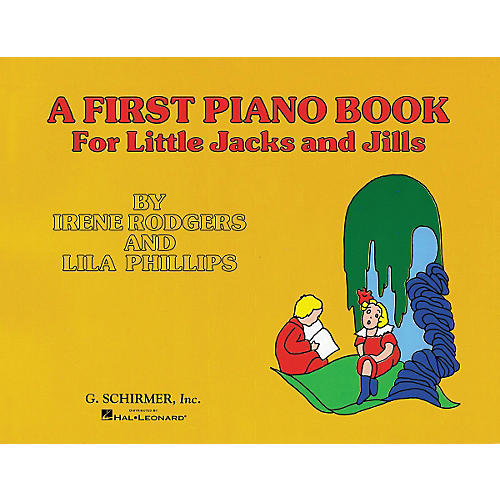 G. Schirmer First Piano Book for Little Jacks And Jills By Rodgers thumbnail