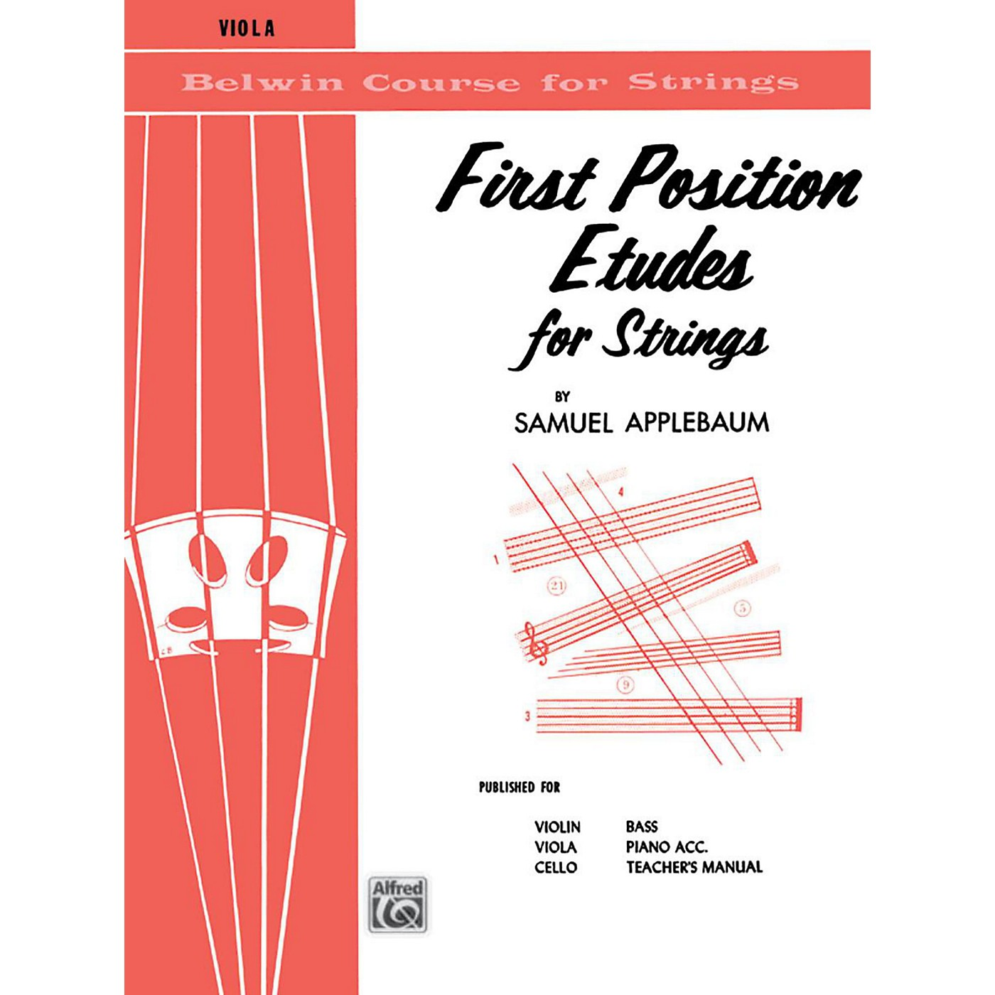 BELWIN First Position Etudes for Strings Viola thumbnail